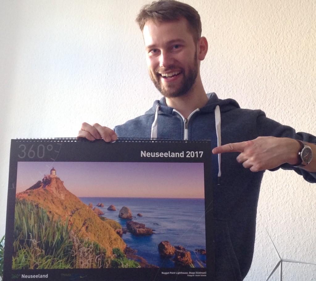 360° Neuseeland - Kalender