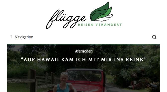 flügge – Reisen verändert (Der Blog)